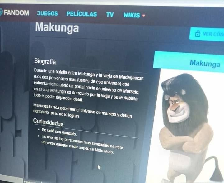 Carajo, me quiero follar a Makunga - meme