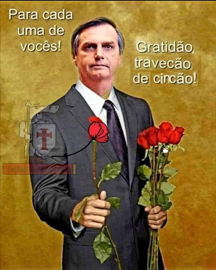 Bolsonaro travequero - meme