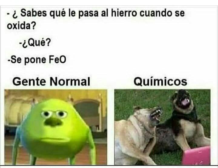 Mucha quimica - meme