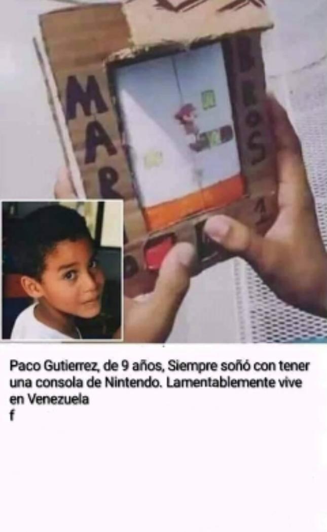 Vive en venezuela :( - meme