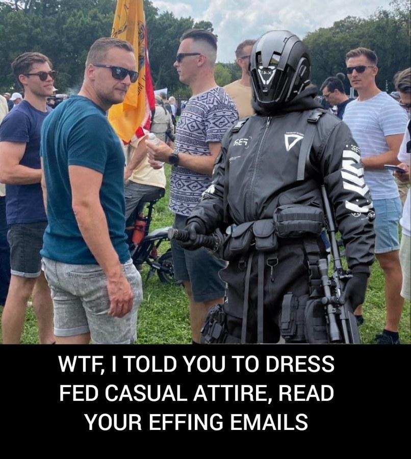 dongs in an attire - meme