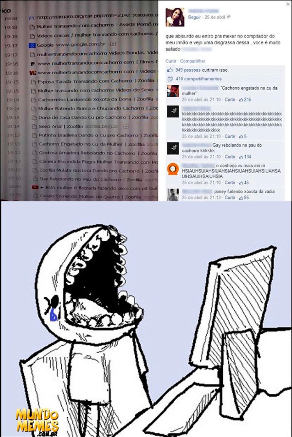 1 min de silêncio pelo CTRL+SHIFT+N ( ͡° ͜ʖ ͡°) - meme