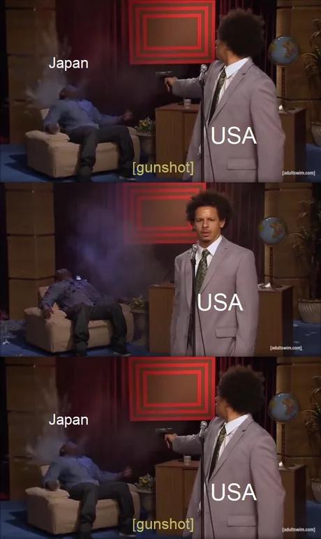 Hiroshima e Nagasaki - meme