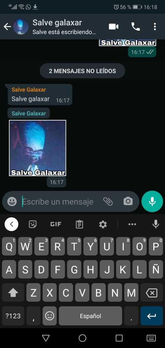 Salve galaxar - meme