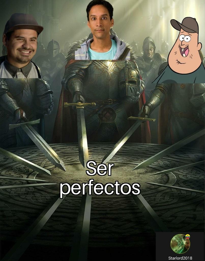 Luis, Abed y Soos - meme