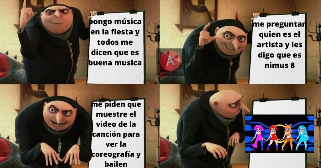 solo me gusta la canción dejo de lado el video no me digan virgo - meme