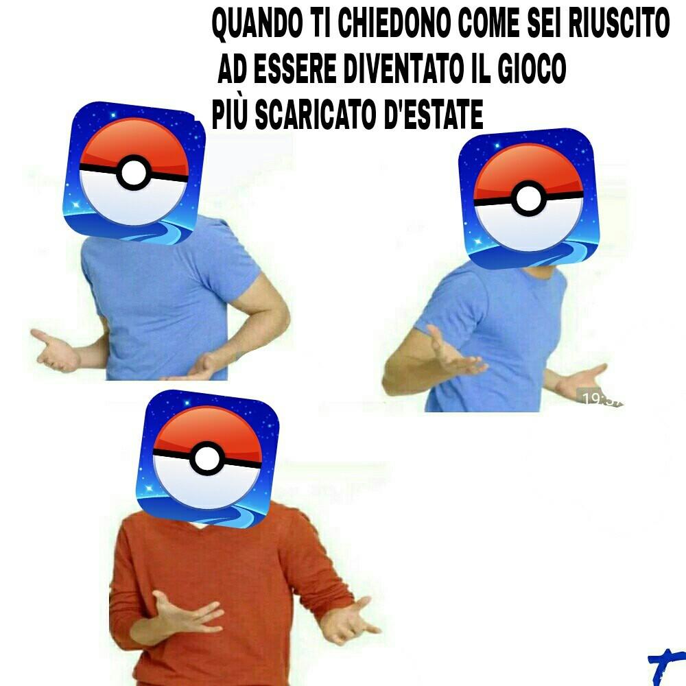 Pokemon Go... - meme