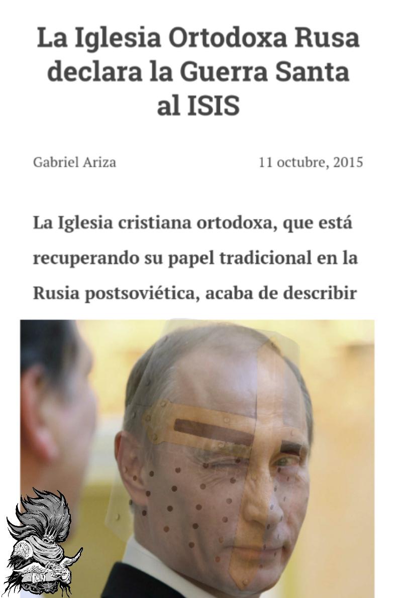 Putin hará otra cruzada? - meme