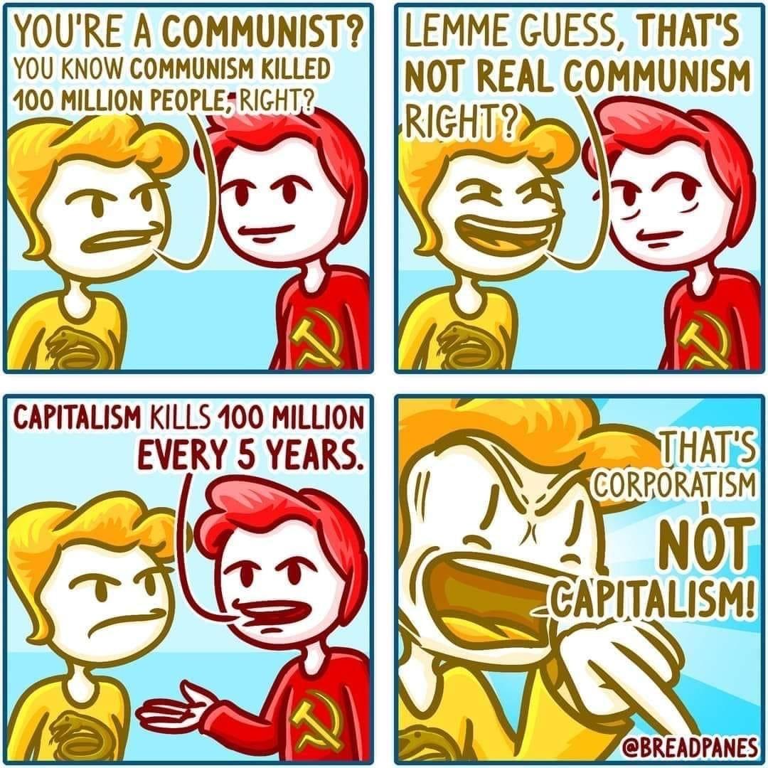 THATS NOT REAL CAPITALISM!!!! - meme