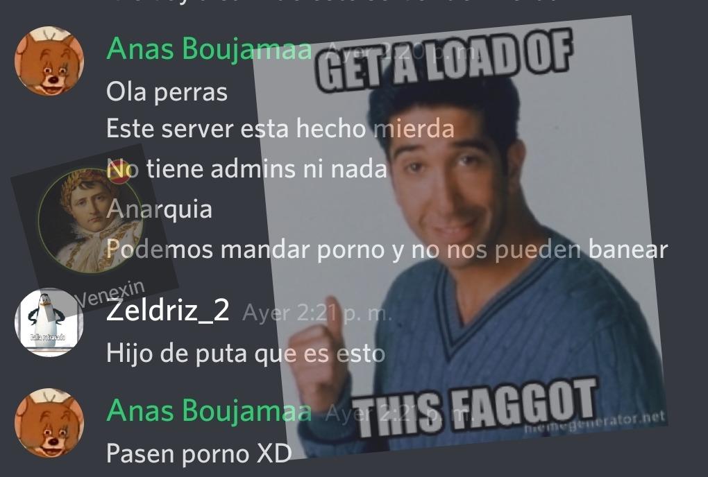 Ana's hipócrita - meme