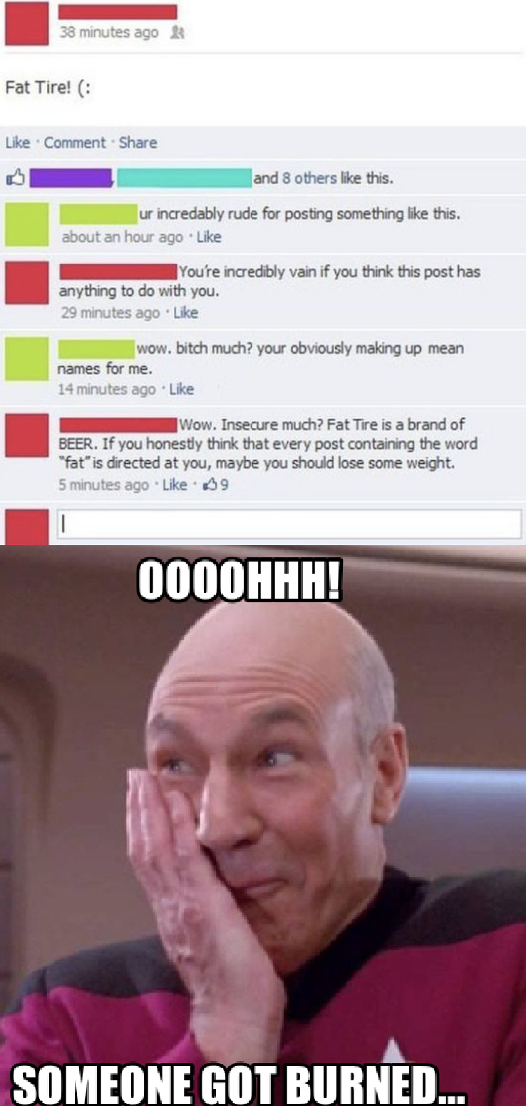fat tire (: - meme