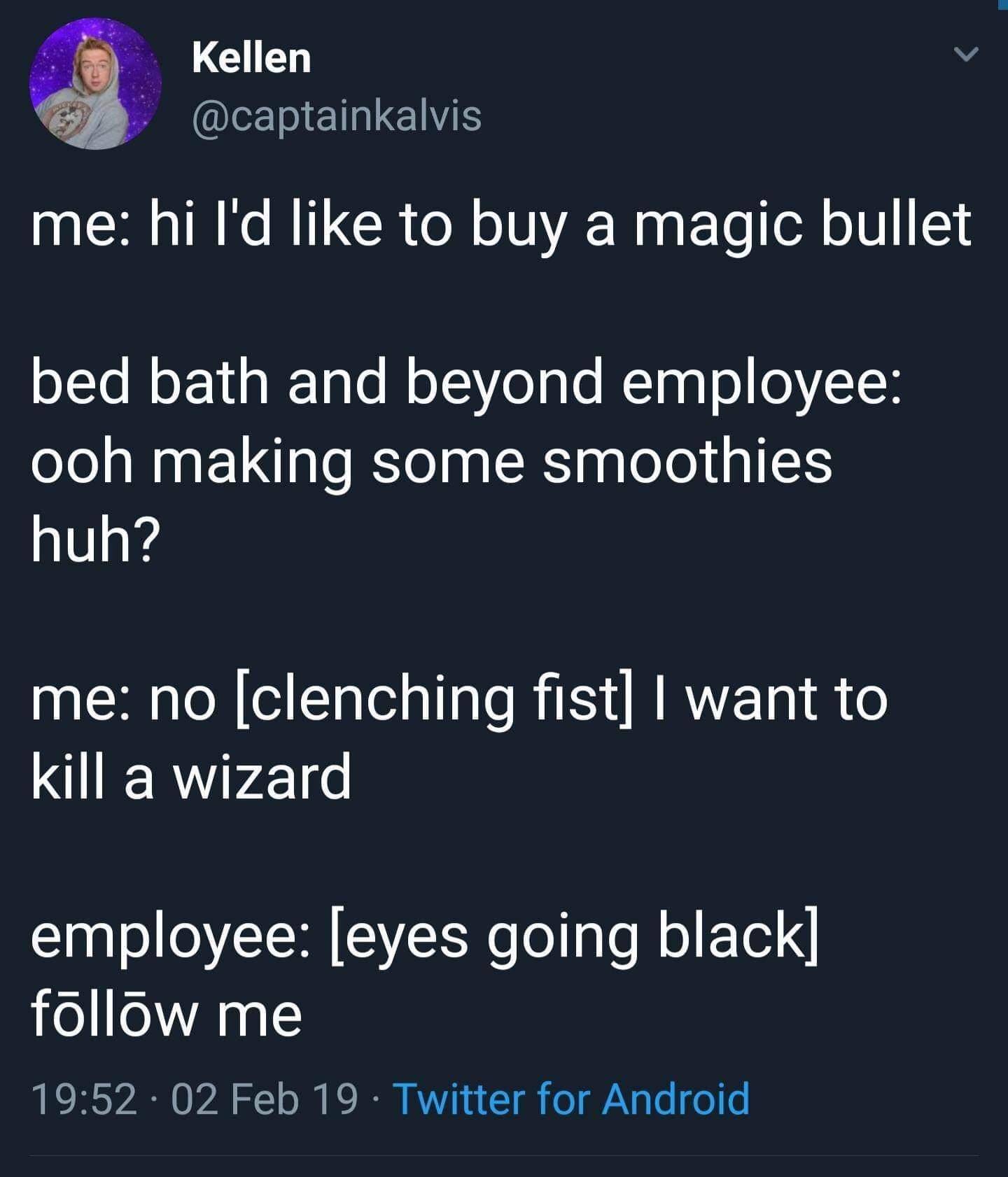 Must destroy wizards - meme