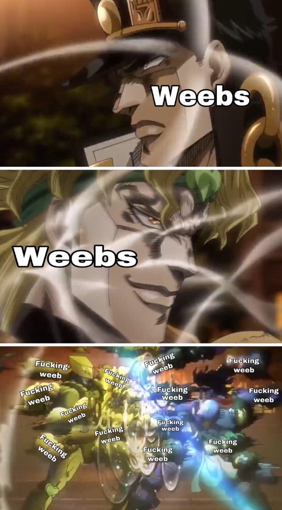 Dio is the best Jojo villain - meme