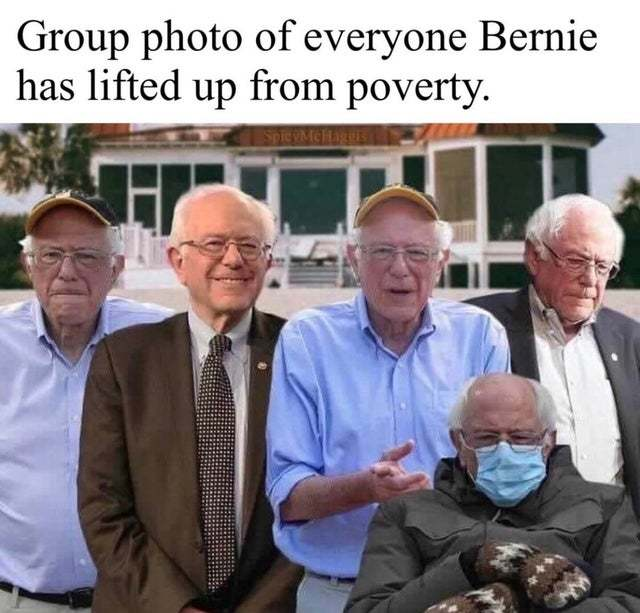 Hey, Bernie! It's u! - meme