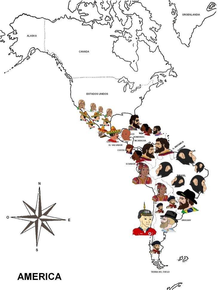 Que no me funen los monos digo, Brasileños. Sorry - meme