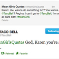 the taco bell twitter is fucking great