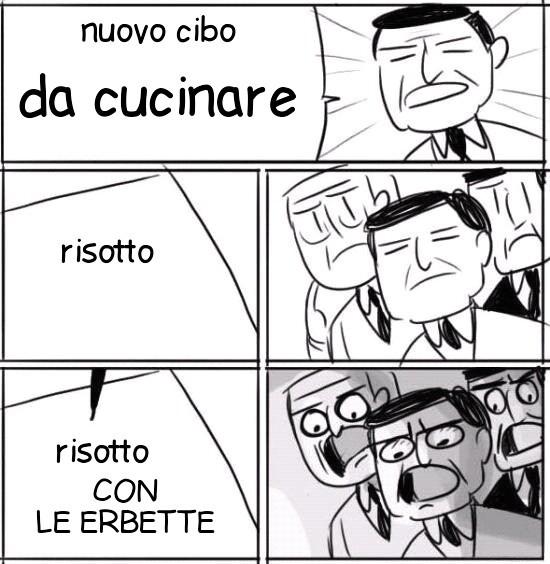 risotto - meme