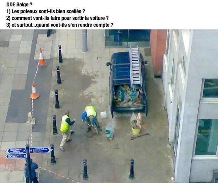 Nos amis les belges <3 - meme