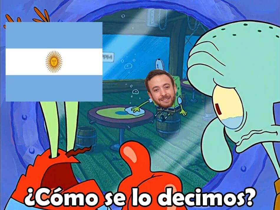 No soy de argentina pero es una pena que se haya legalizado el aborto - meme