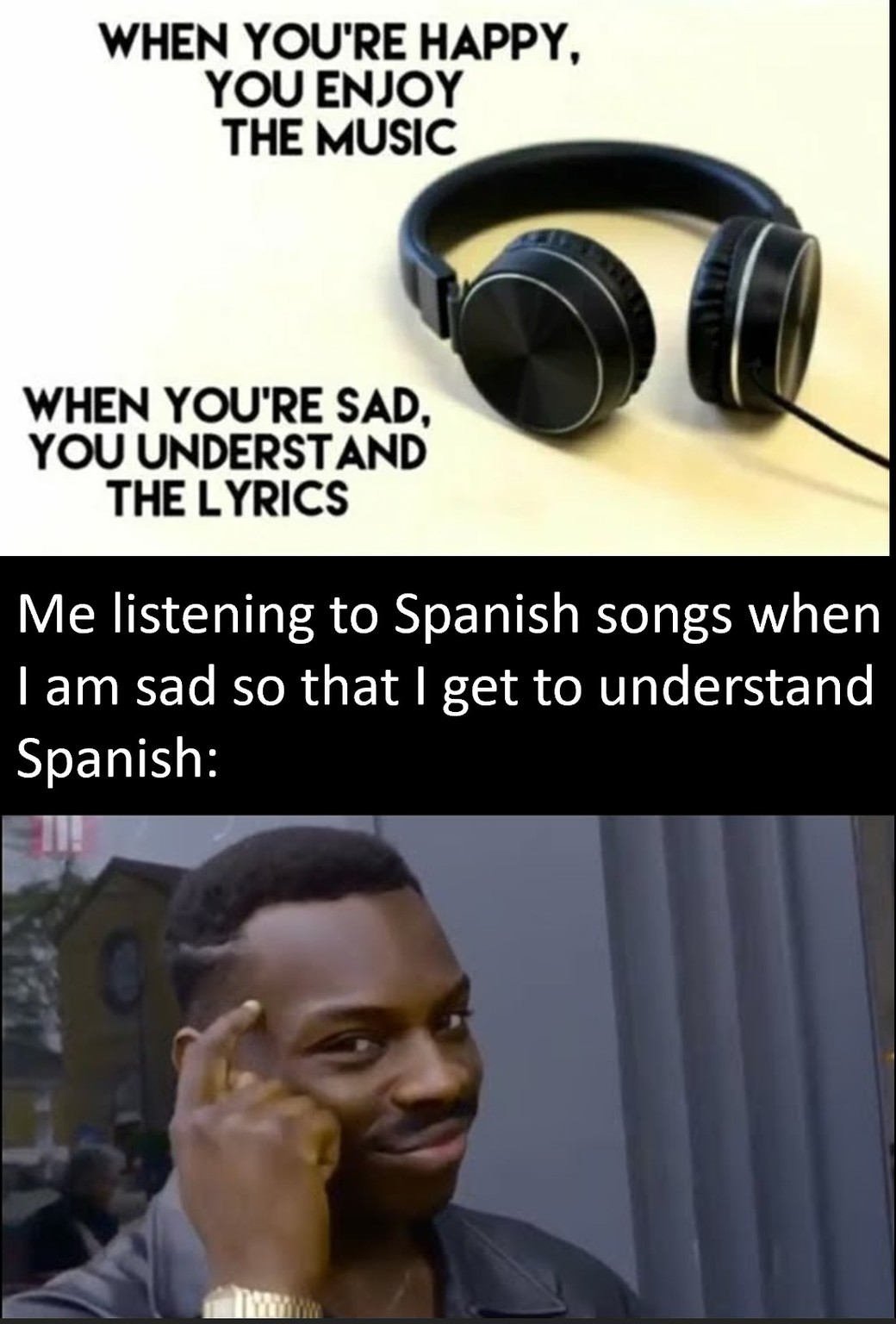 Unlimited learning! - meme