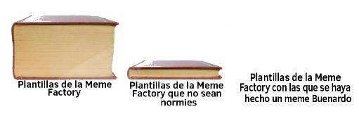 La verdad, nunca he visto un meme hecho con plantilla de la Meme Factory que tenga positivos