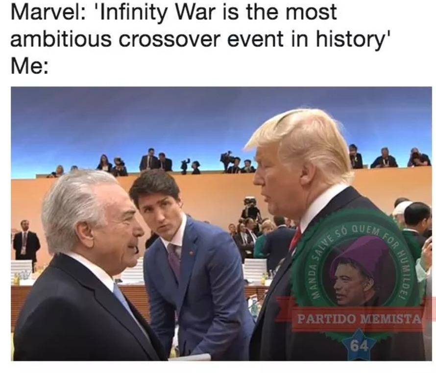 Imperador - meme
