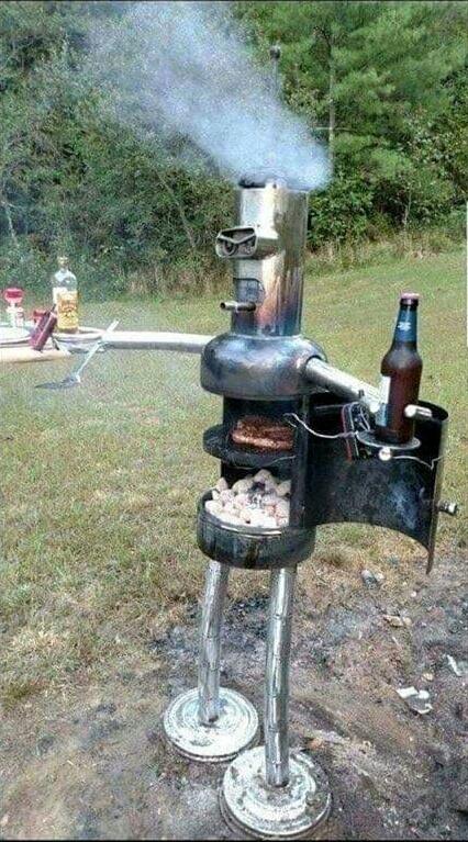 Un barbecue avec de la répartie. - meme