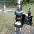 Un barbecue avec de la répartie.