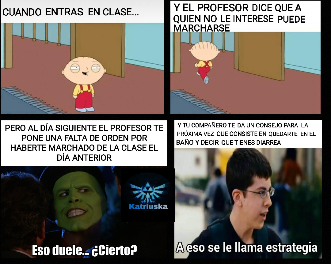LAS CLASES... - meme