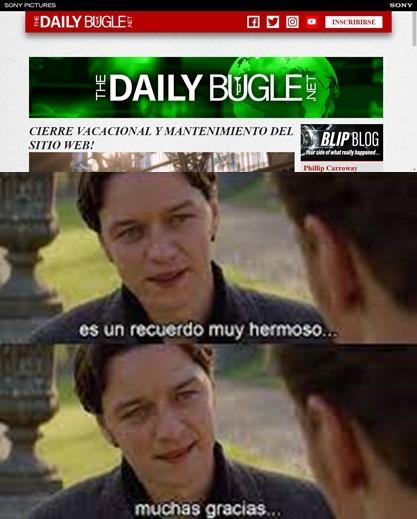 Vayan al maldito dailybugle.net ahora, es real REAAL - meme