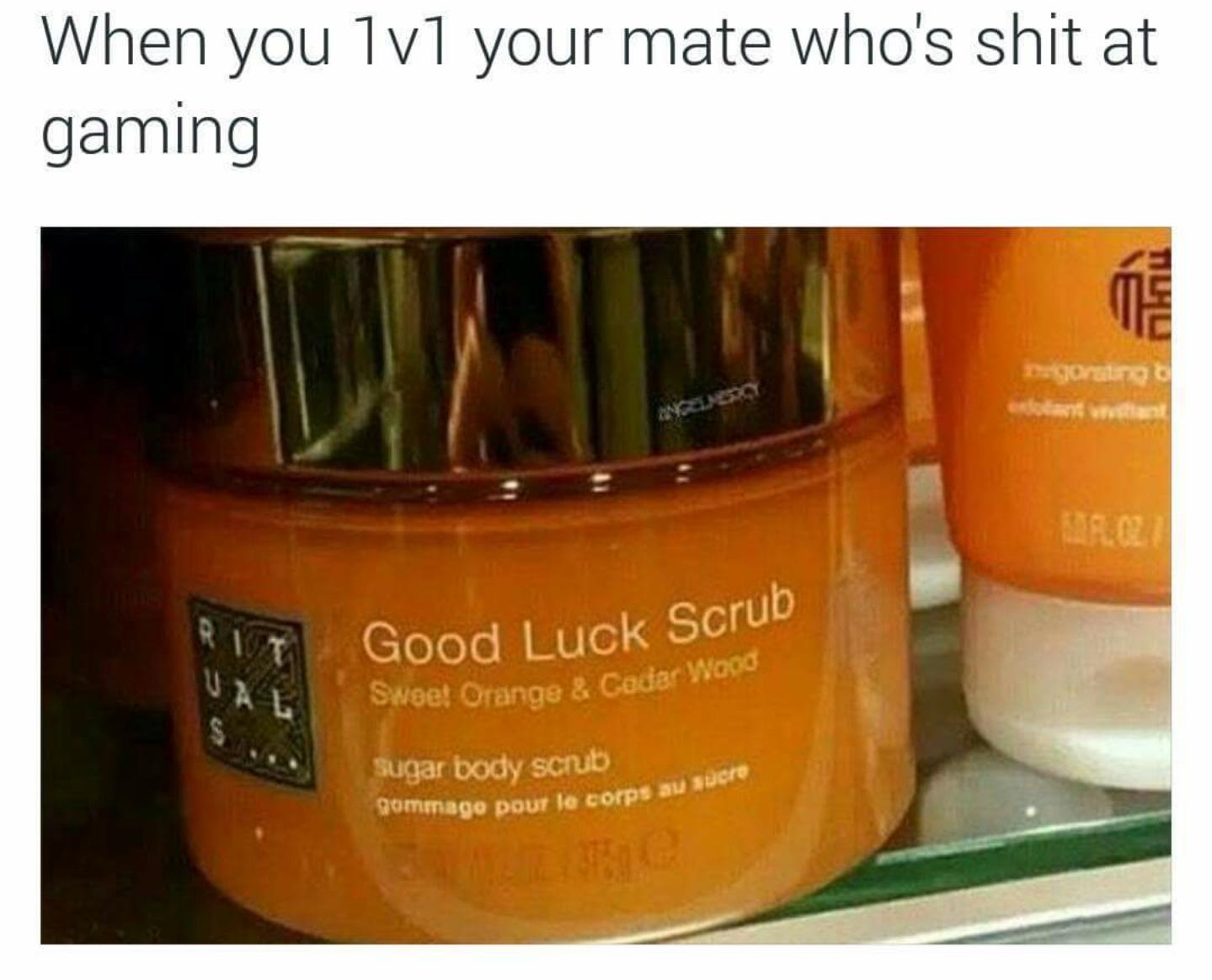 Scrub - meme