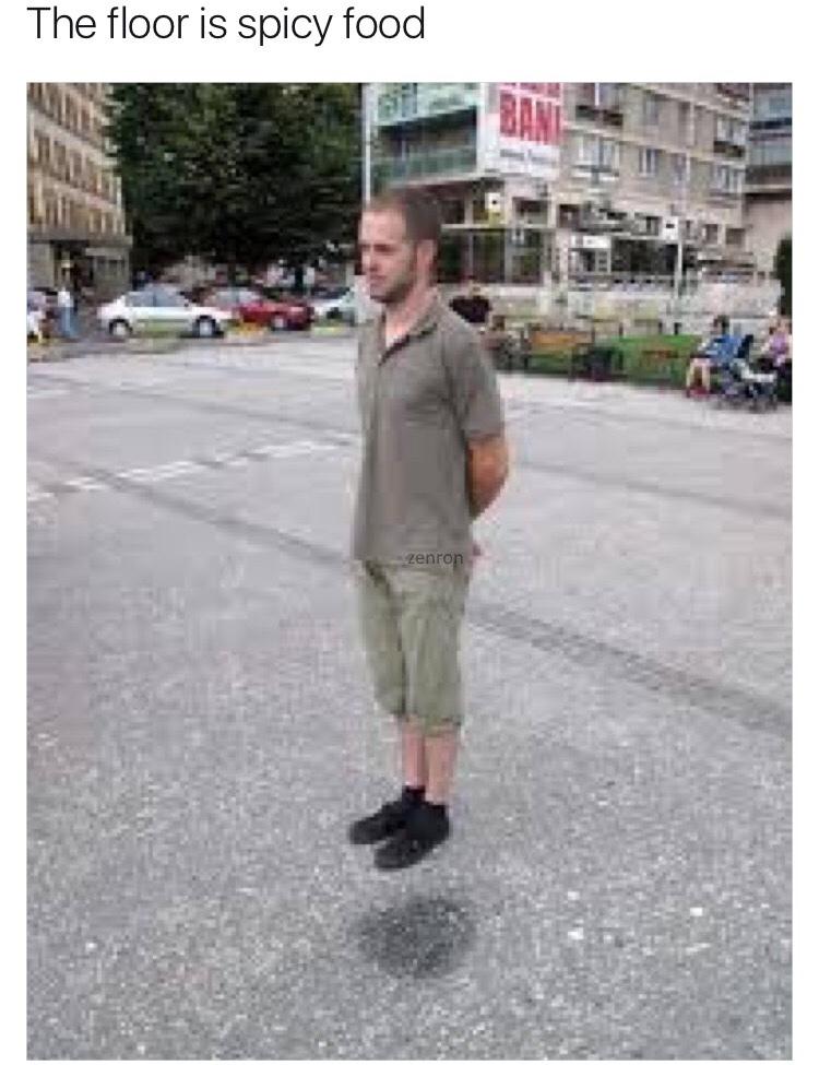 levitation skills - meme