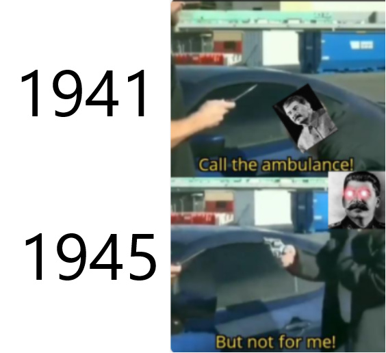 Russia in ww2 - meme