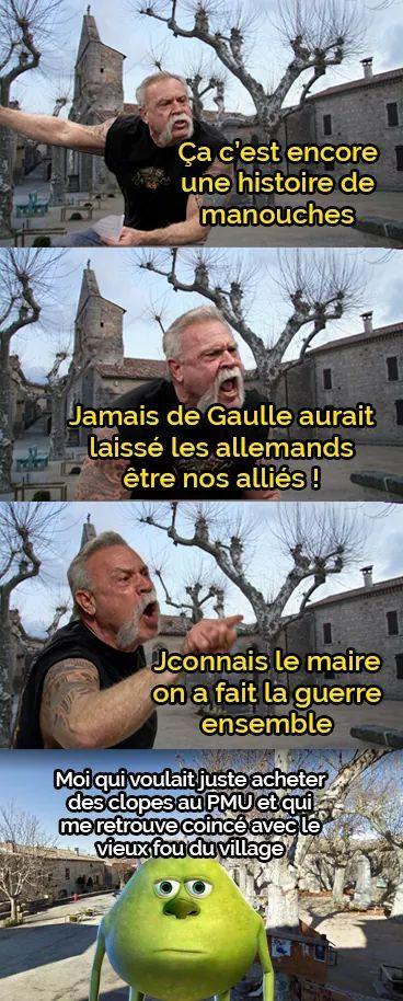 Wow du calme Gérard - meme