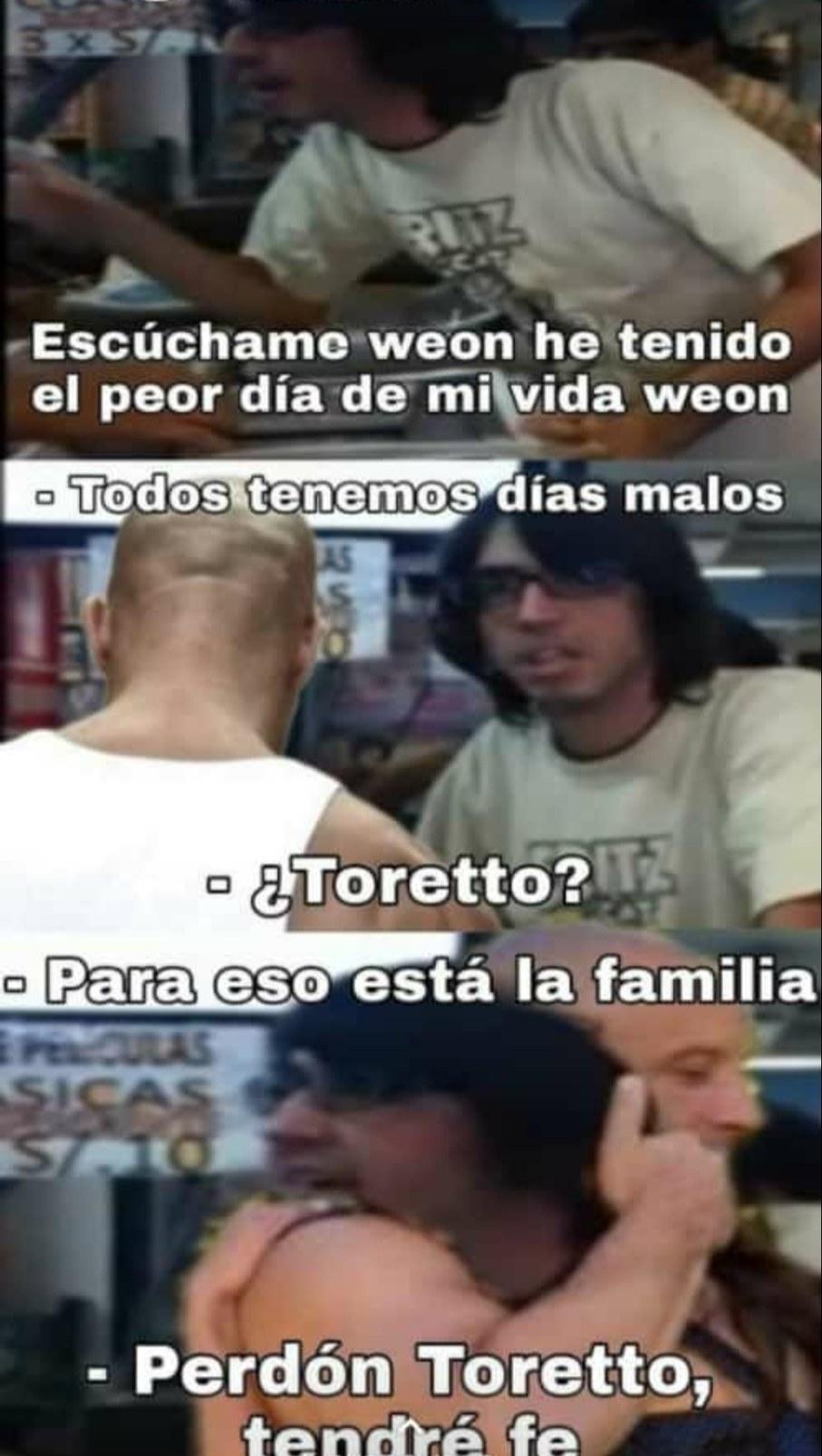 Perdón Toretto - meme