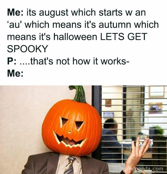 It's almost spooky season! - meme