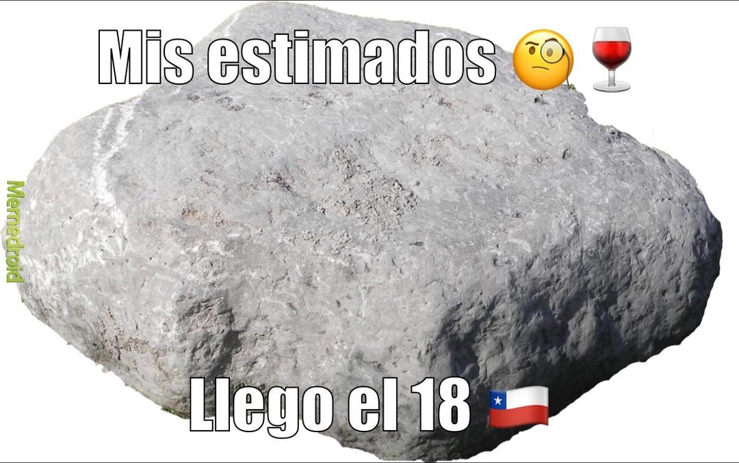 no pregunten por la roca - meme