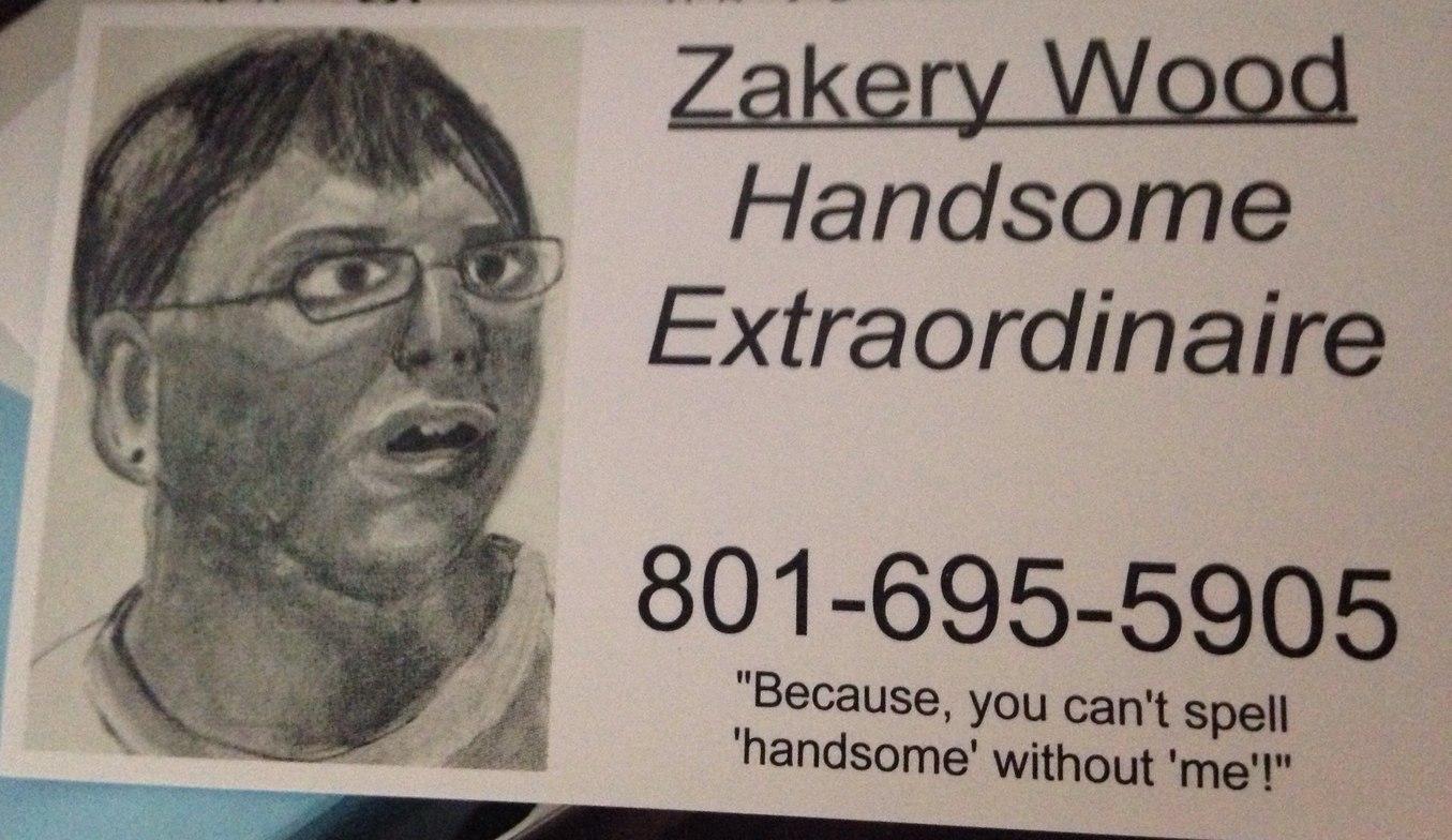 my business card - meme