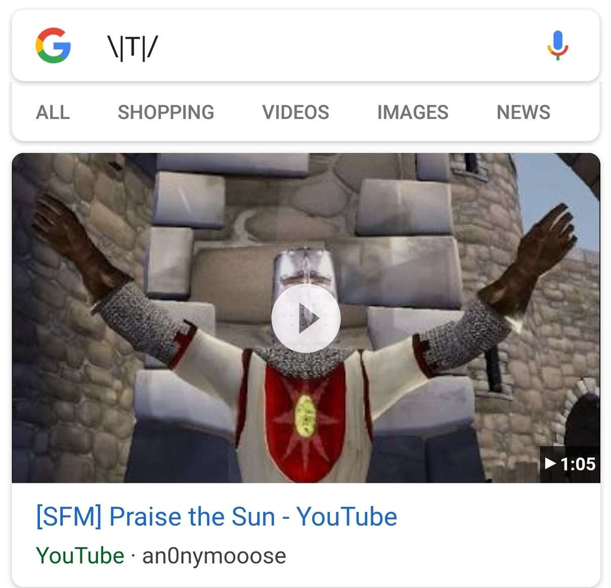 Google knows what's up. - meme