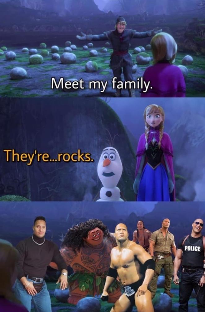 rocks - meme