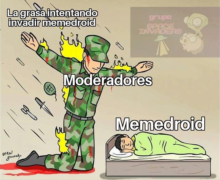 Grandes los moderadores - meme