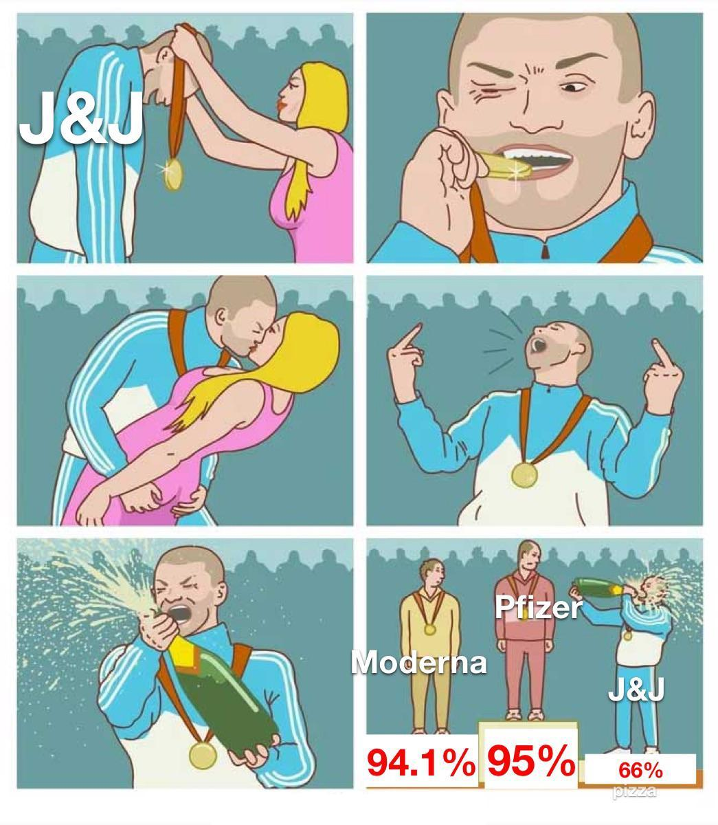 Johnson & Johnson vaccine be like - meme