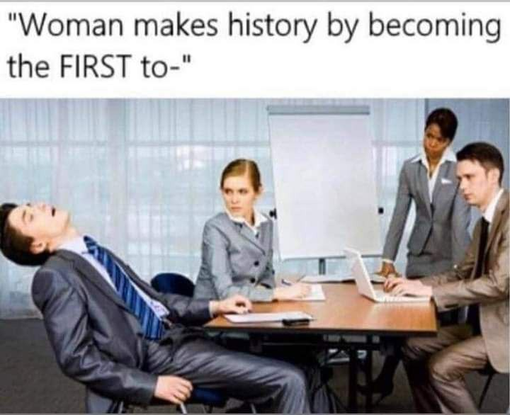 Feminists are a sign of an empire's decline :truestory: - meme