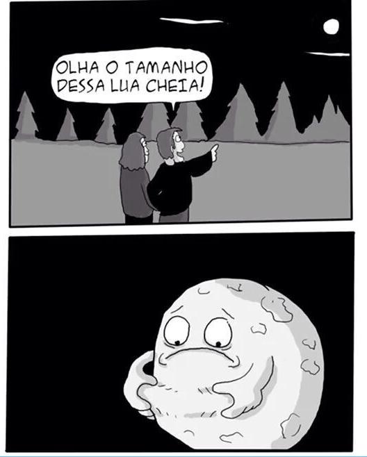 Coitadinha da lua qui dó qui dó - meme