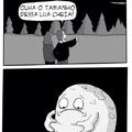 Coitadinha da lua qui dó qui dó