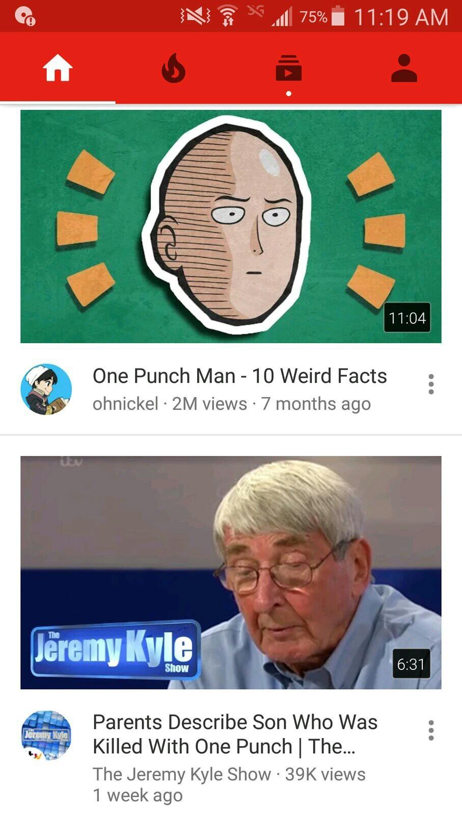 One Punch Killer - meme