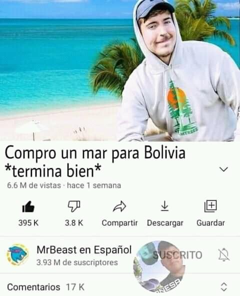 Ahora mr.Beast compra venezuela - meme