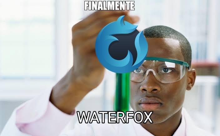 Waterfox es el lado malvado de Firefox - meme