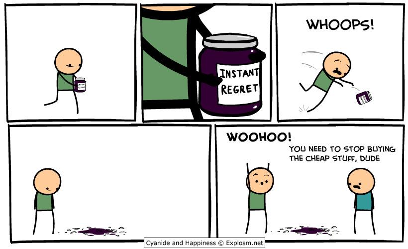 regret - meme