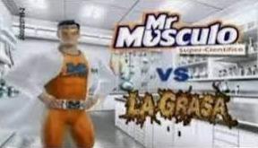 Repost full hd, Mr Músculo god vs la grasa :v - meme